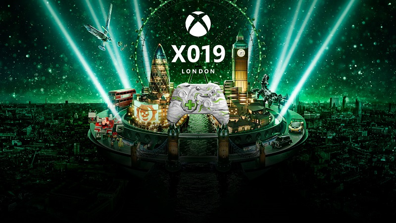 X019 : Official Schedule for Xbox's Show from London