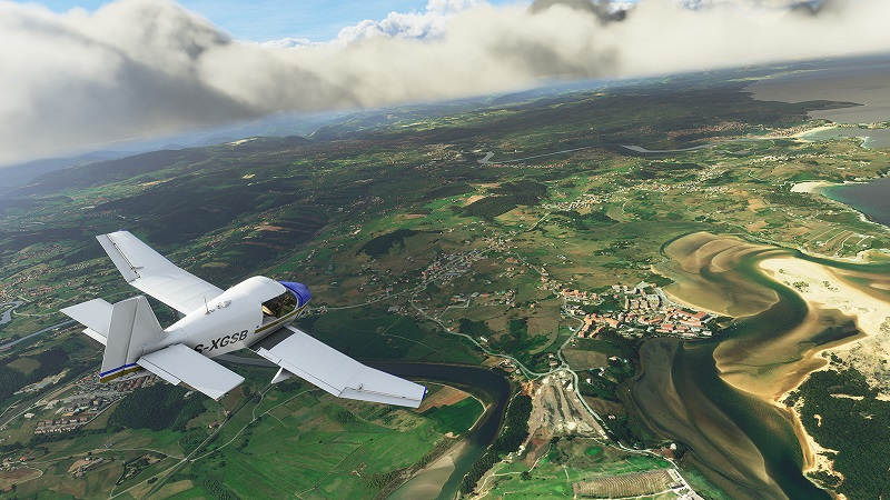 New Flight Simulator Video Highlights Gorgeous Snowy Vistas