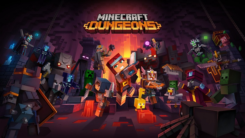 Minecraft Dungeons Confirmed for a May Release