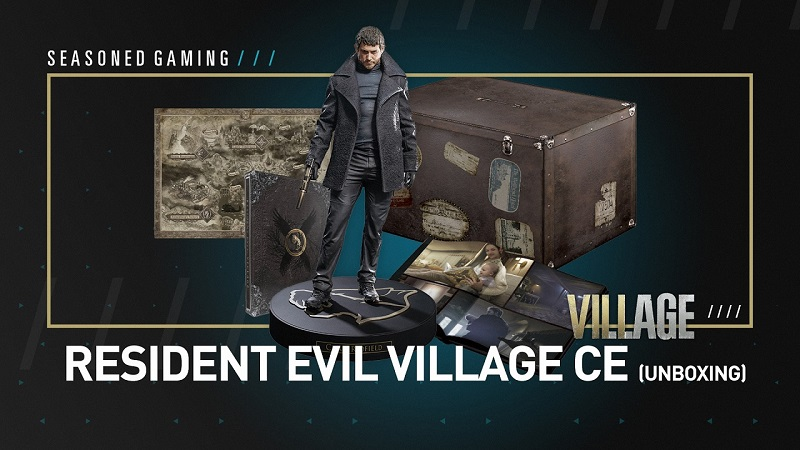 Unboxing : Resident Evil Village Collector's Edition (Gamestop Exclusive)