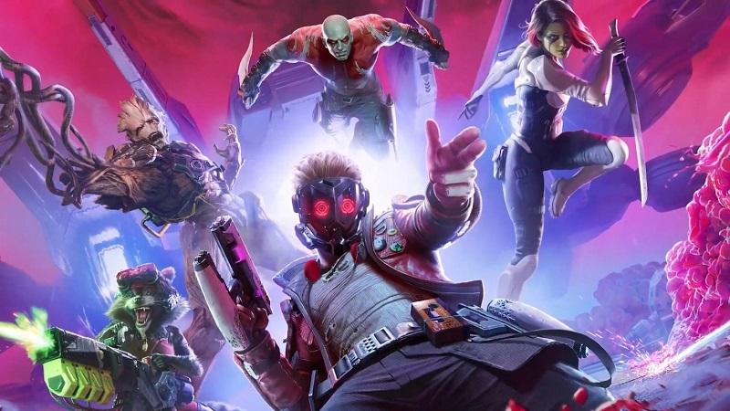 Guardians of the Galaxy Announced by Square-Enix