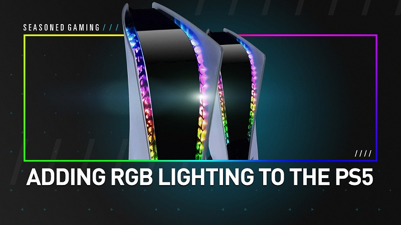 Review and How-To : Adding RGB LED Lighting to the PS5