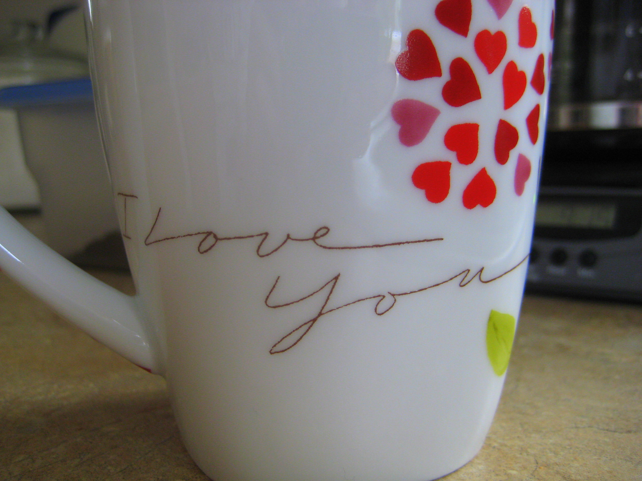 A cup of love...