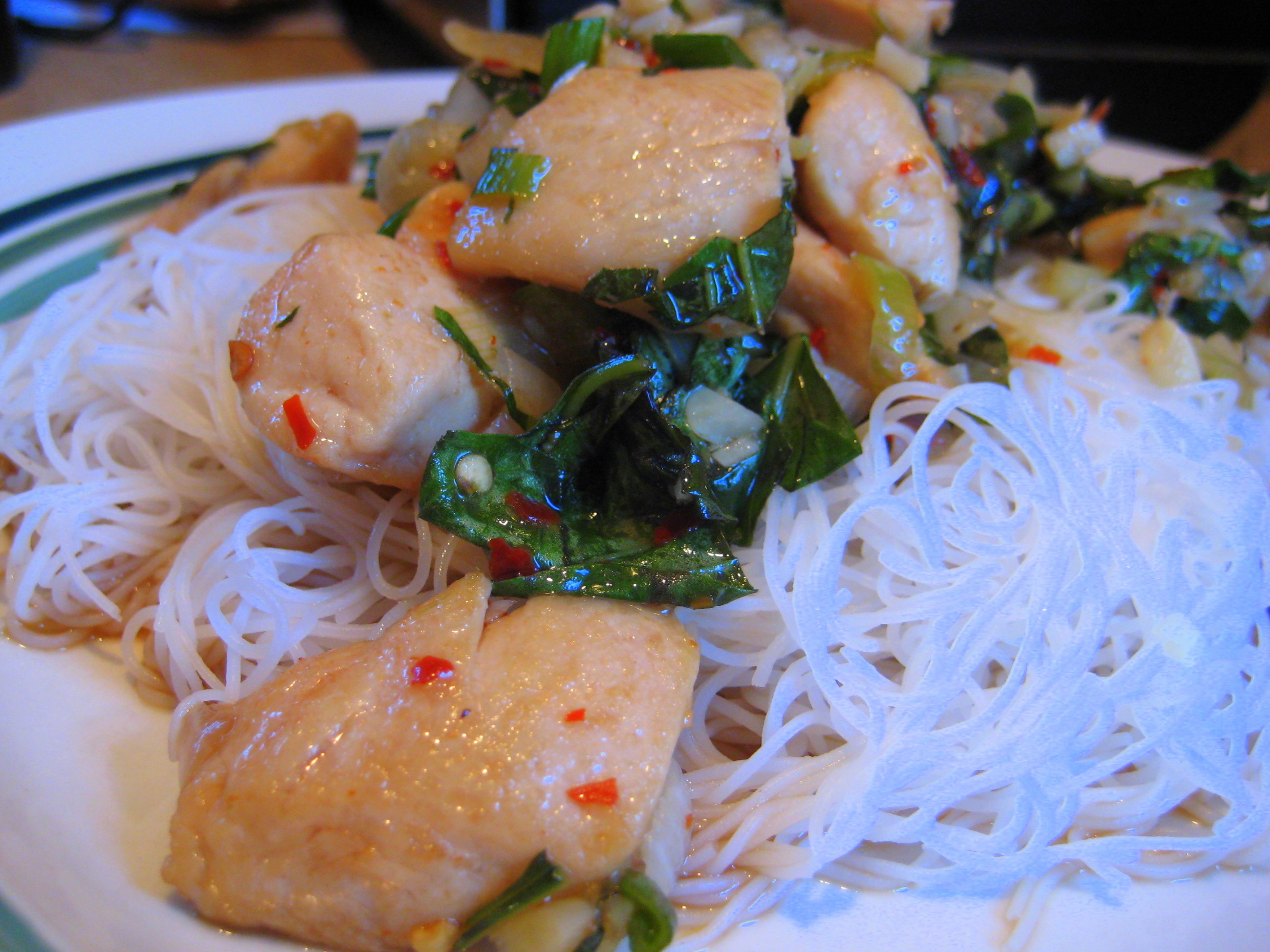 Healthy, spicy summer weeknight meal