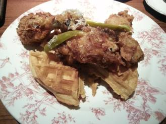 Succotash chicken and waffles 5.29.16