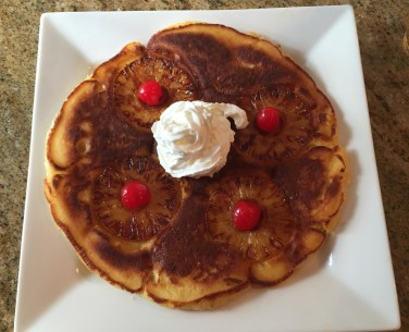 Pineapple upside down pancakes_5