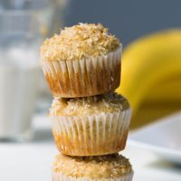 Vegan Coconut Pineapple Muffins