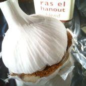 garlic - ras ela hanout