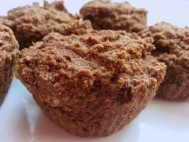 Recipe: Dreamy chocolate-orange muffins (grain-free, sugar-free, vegan)