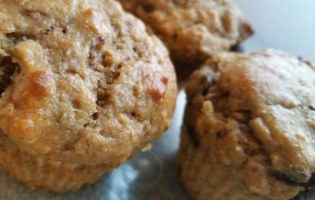 Recipe: Peanut Butter-Banana Muffins