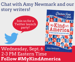 Twitter party tomorrow for my second Chicken Soup for the Soul book!