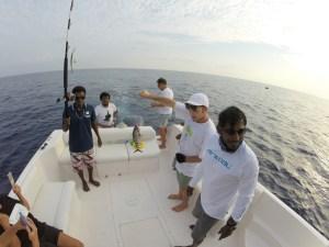 Big game fishing in Thulusdhoo