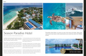 Feature in March 2018 issue of Haute Grandeur