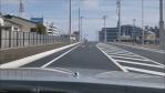 10/1開通中田バイパス日交タクシー近くの新交差点を通ってみました