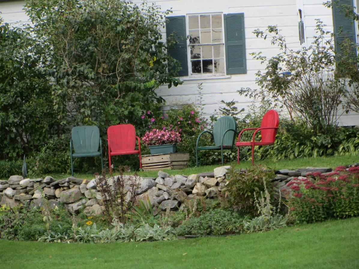 Fall Viewing Terrace in Washington, Maine