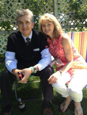 Dr. and Mrs. Medina