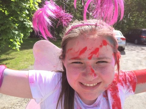 Wow!!! Color run Rockport ME 2017