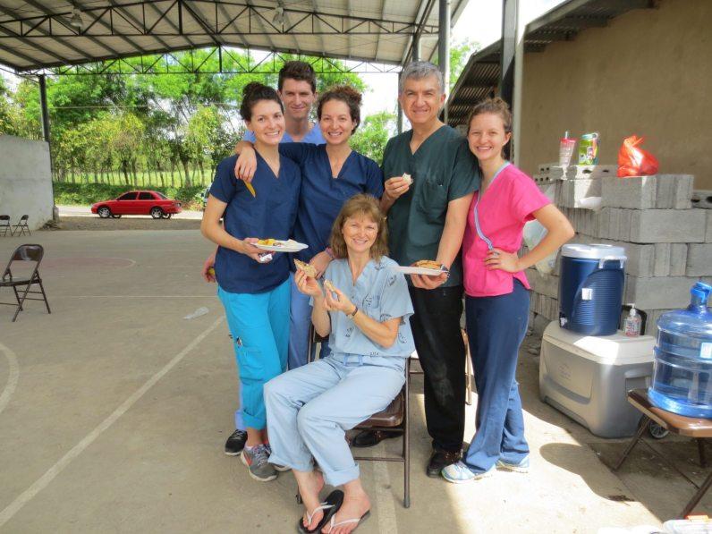 Team Medina on Maranatha Christmas Family (Panama) trip.