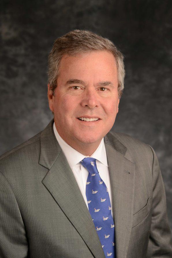 Jeb Bush Smiles - Nice – original stuff, edges a bit worn, great color.