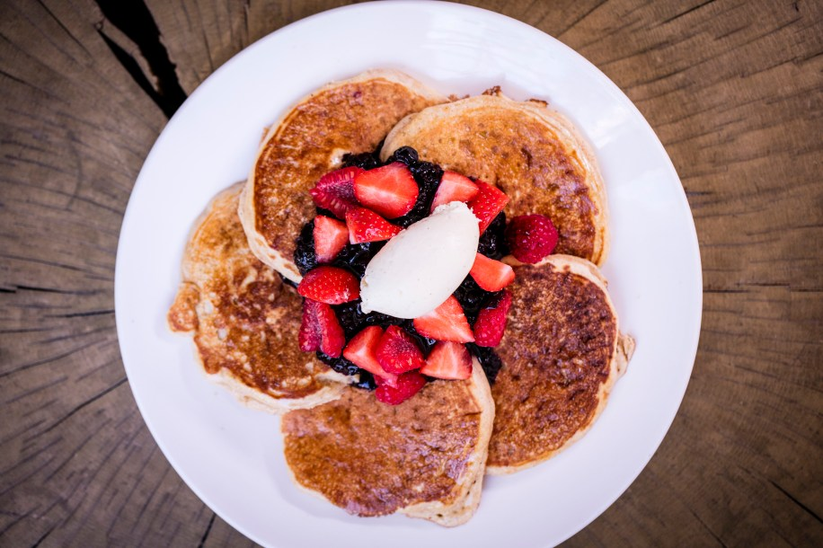 London's most peculiar pancakes Avenue Restaurant