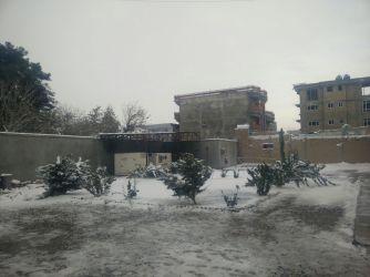 Mazar compound in snow