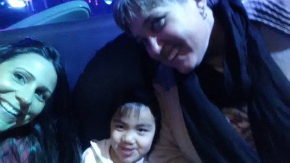 seaworld with tracy