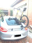 Porsche Cayman S Bike Rack - Mini Bomber