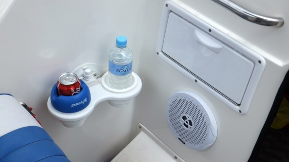 2 Cup Holder Vertical Mount with Drinx Insert