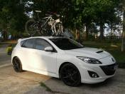 Mazda 3 MPS Bike Rack