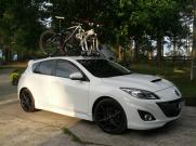 Mazda 3 MPS Bike Rack