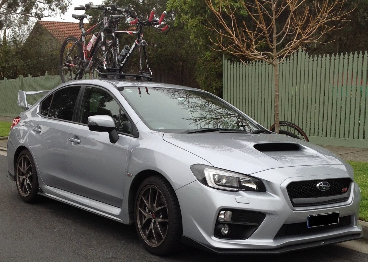 Subaru WRX STI Bike Rack