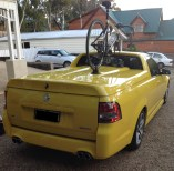 Holden Ute SV6 Bike Rack - The Mini Bomber Solution
