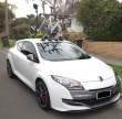 Renault Megane RS Bike Rack – The SeaSucker Mini Bomber Solution