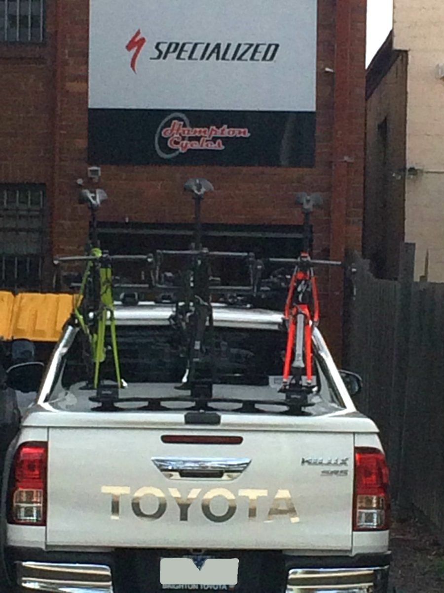 Toyota Hilux SR5 Bike Rack