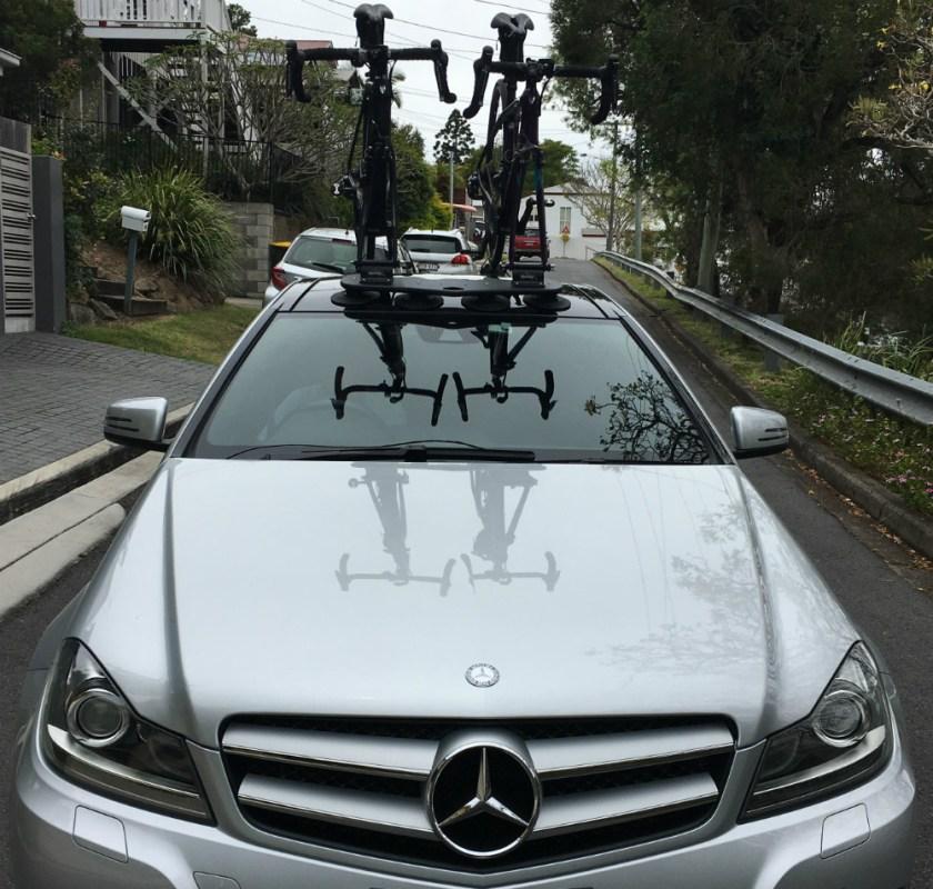 Mercedes benz c250 bike rack seasucker down under for Mercedes benz bicycle rack