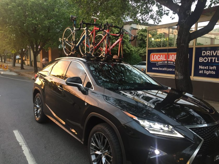 Lexus Rx350 Bike Rack Seasucker Down Under