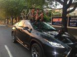 Lexus RX350 and the SeaSucker Bomber 3 bike rack