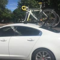 Jaguar XF Bike Rack
