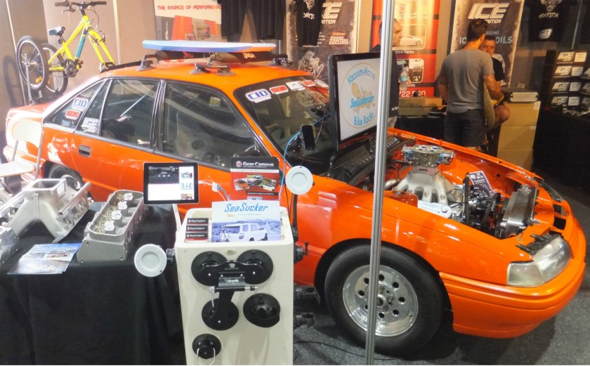 Summernats 2017 SeaSucker Display Stand