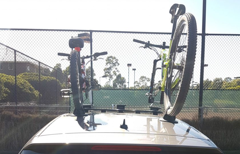 VW Golf Bike Rack - The SeaSucker Bomber