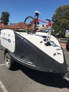 Ultimate Off Rad Camper / Caravan Bike Rack - The SeaSucker Talon