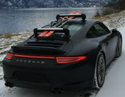 Porsche 911 Ski Rack - the SeaSucker Ski & Snowboard Rack