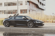 Audi R8 Ski Rack - the SeaSucker Ski & Snowboard Rack