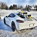Porsche Cayman Ski Rack - the SeaSucker Ski & Snowboard Rack