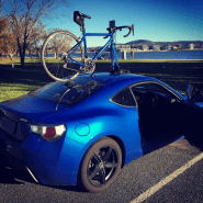 Subaru BRZ Bike Rack - The SeaSucker Talon
