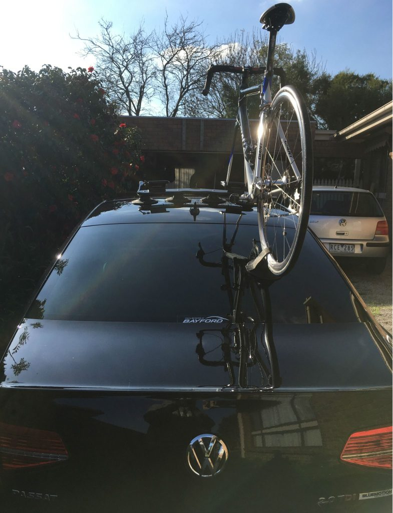 VW Passat Bike Rack - The SeaSucker Mini Bomber