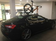 Maserati Ghibli Bike Rack - the SeaSucker Talon
