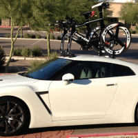 Nissan GTR Bike Rack
