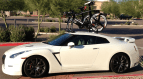 Nissan GTR Bike Rack - The SeaSucker Mini Bomber