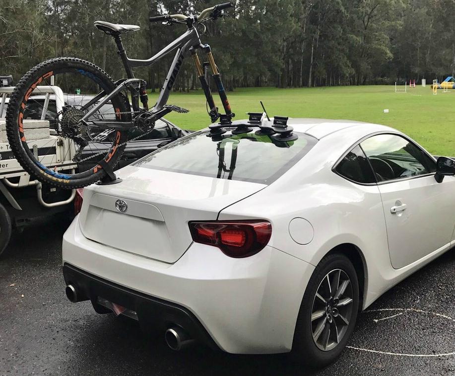 Toyota 86 Bike Rack Seasucker Down Under